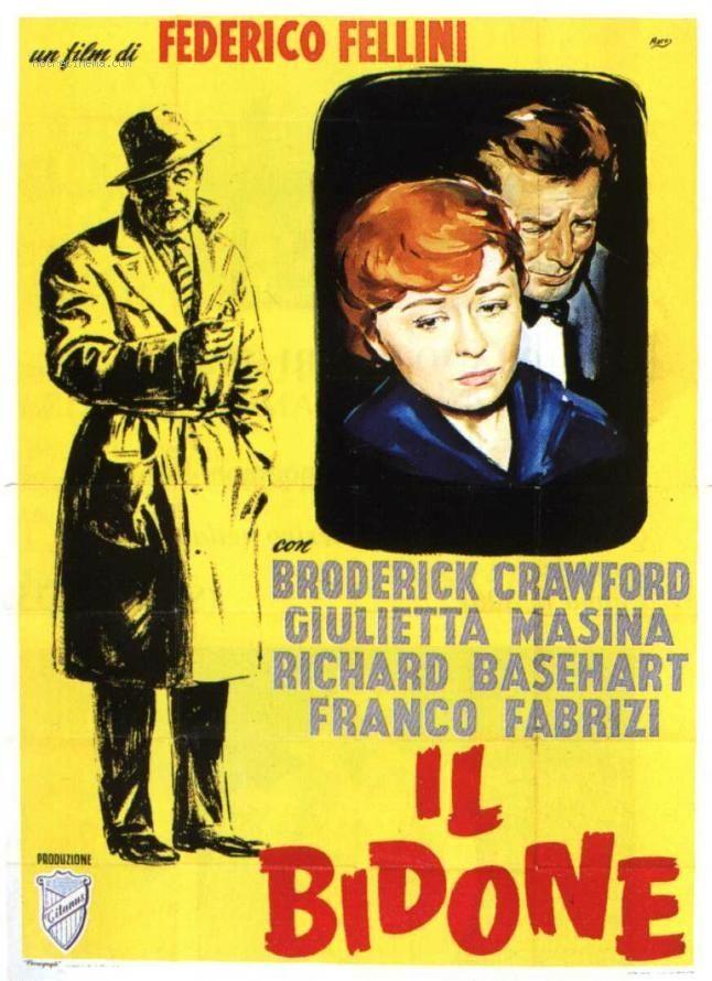 Il bidone   Fondazione Federico Fellini