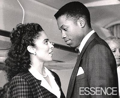 Jasmine Guy and Kadeem Hardison as the iconic Whitley Gilbert and Dwayne Wayne from A Different World.