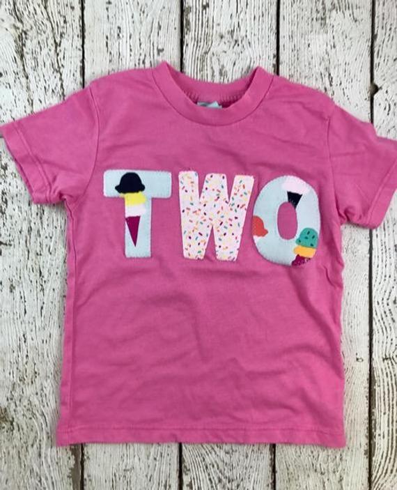 Fiesta de helado, decoración de helado, camisa de helado, traje de cumpleaños de helado, chispas, camisa de cumpleaños de niña, traje de cumpleaños, camiseta   – . Lil Threadz Birthday Shirts .