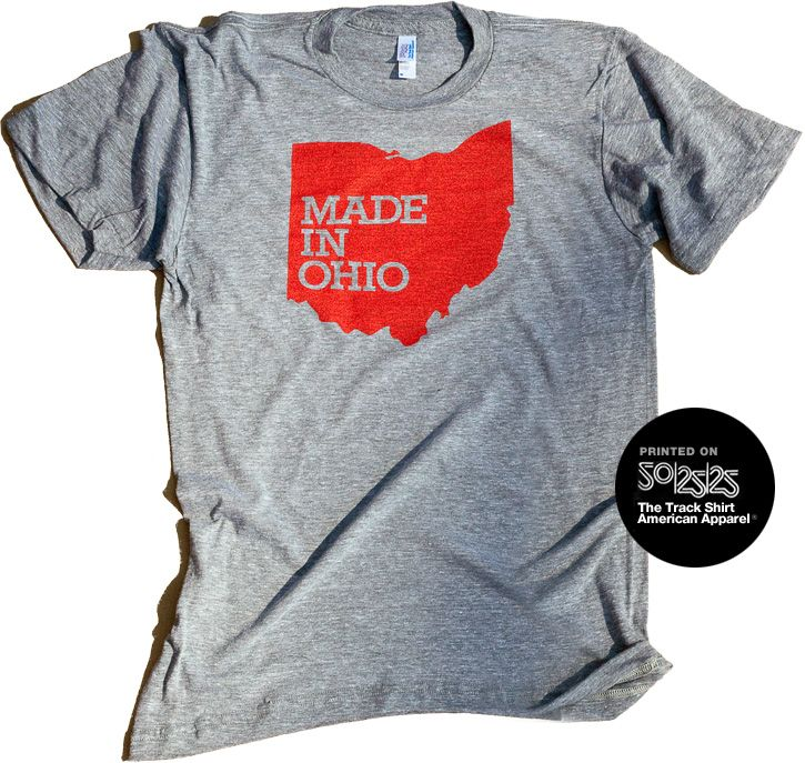 Great shirt from Wire & Twine. It's true, the best stuff is made in Ohio.