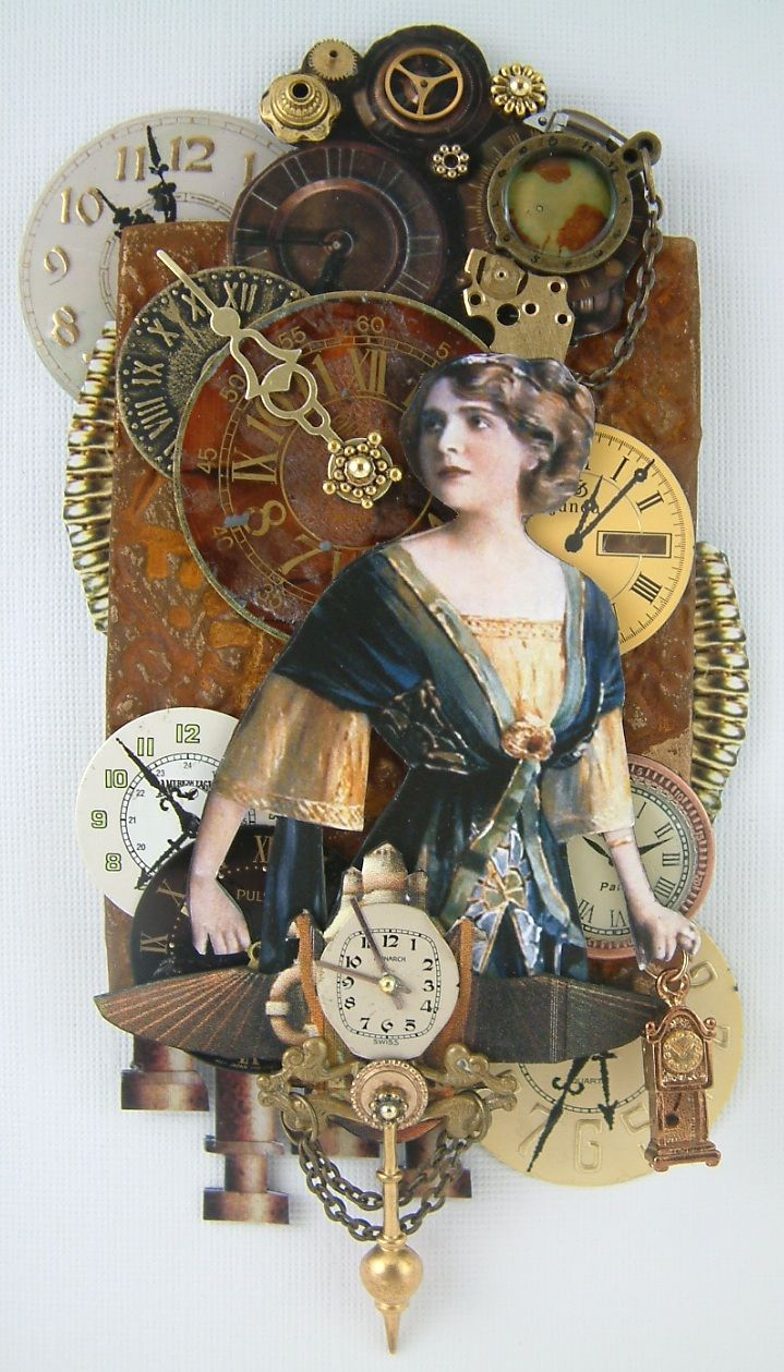 """Lost in Time Steampunk  To checkout my art, signup to win my art, download free images, and learn new techniques checkout my Blog """"Artfully Musing"""" at http://artfullymusing.blogspot.com"""