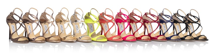 All the colours of the rainbow LANCE. Jimmy Choo!