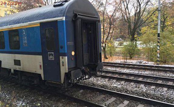 Rychlík usmrtil za Plzní muže: Vlaky do Prahy zatím nejezdí