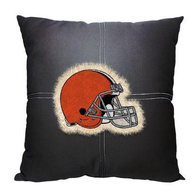 Northwest Co. NFL Browns Cotton Throw Pillow