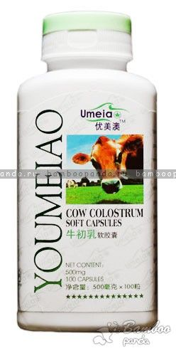 Желатиновые капсулы «Коровье молозиво» YOUMEIAO