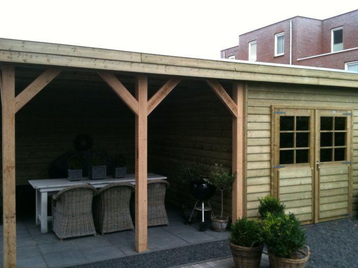 Tuinhuis IJssel met veranda en praktische bergruimte
