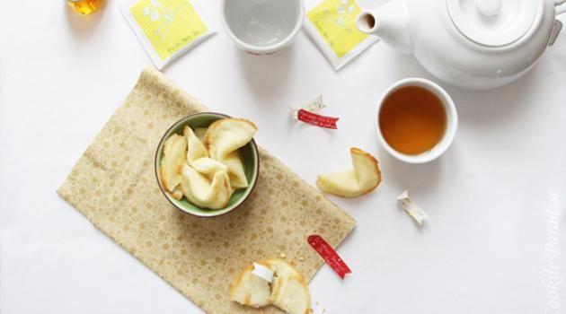 Fortune cookies ♥ DIY & recette de ces petites confiseries chinoises