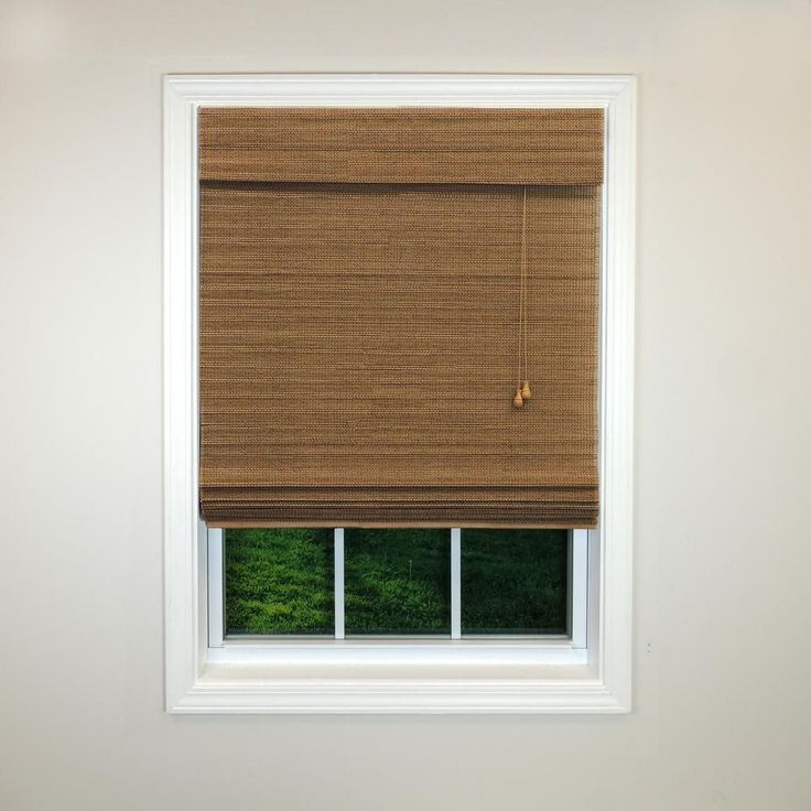 Outdoor Bamboo Roll Up Shades Home Depot Cordless Magnetic Roman Shade Window Blind Fabric