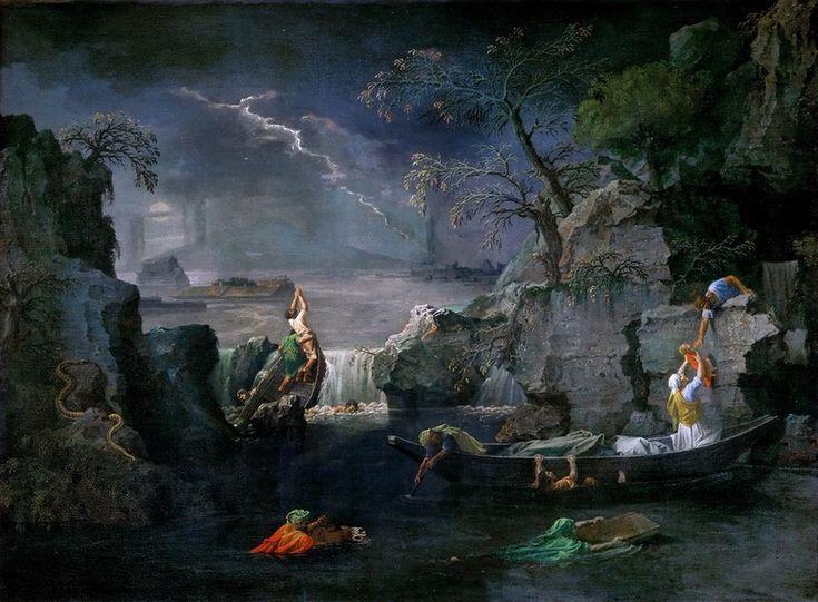 Пуссен, Никола (1594 лез-Андели - 1665 Рим) -- Четыре сезона - Зима