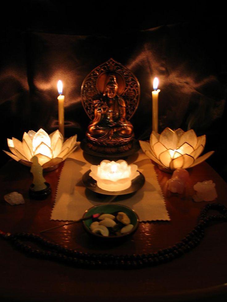 Kwan Yin Altar | DIY & Crafts that I love | Meditation ...