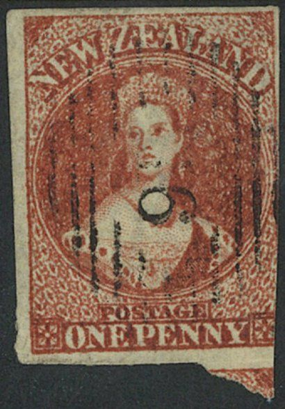 New Zealand's first stamp sells above estimate for $10,750 #stamps #philately