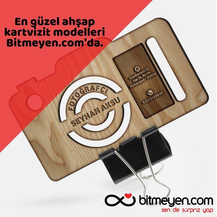 En güzel ahşap kartvizit modelleri Bitmeyen.com'da.   #Bitmeyen #KişiyeÖzelH…