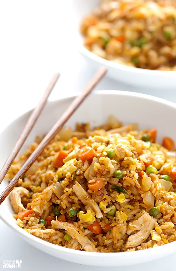 Spicy Chicken Fried Rice Recipe