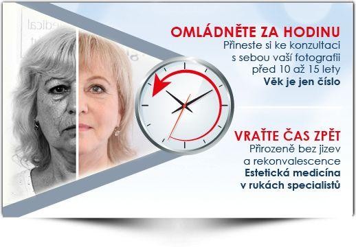 Přineste si svou fotku před 10 - 15 lety a my vrátíme čas ZPĚT - Medical Institut