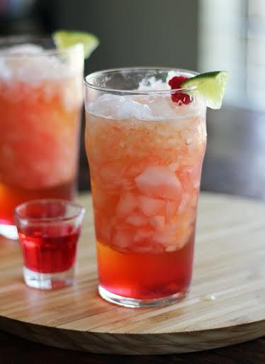 Raspberry Vodka Mule