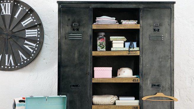 Idée déco récup : transformer de vielles armoires en dressings ...