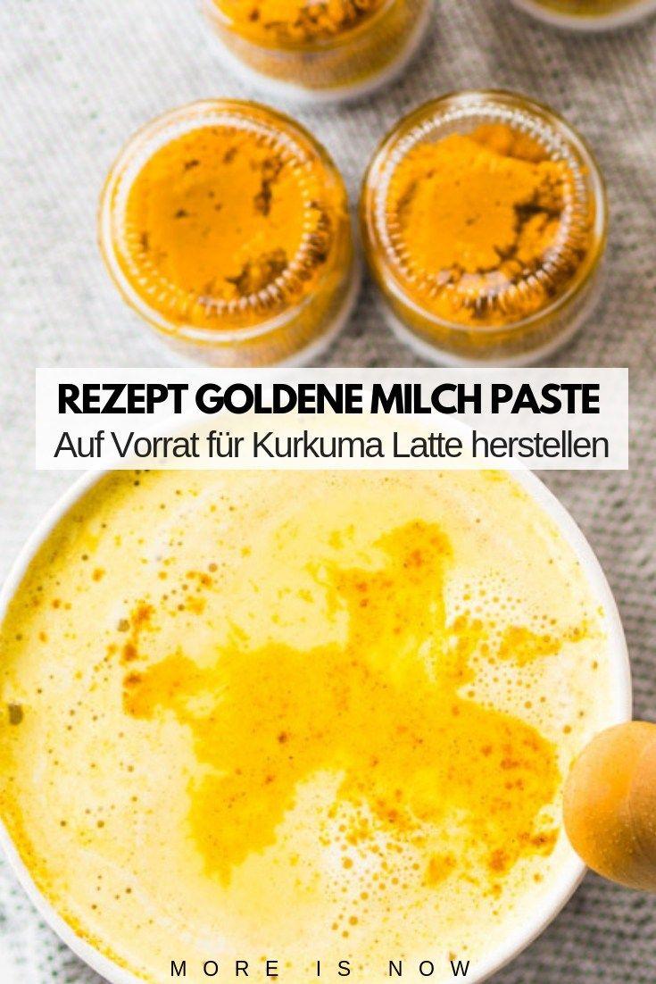 DIY Goldene Milch Paste mit Kurkuma – der Immun Booster für kalte Tage & Free Printable Geschenk Anhänger
