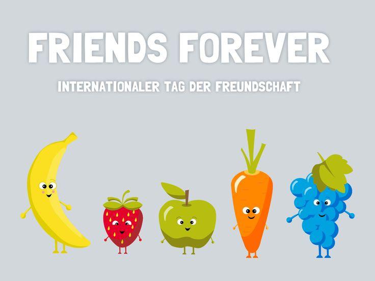 Am 30.Juli ist internationaler Tag der Freundschaft!
