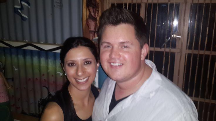 Natalie and Chris