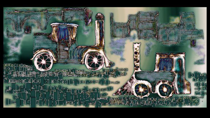 vasagita, Steampunk car
