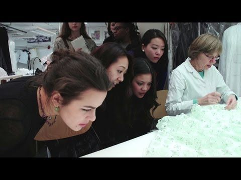 Students invited to the Haute Couture Spring-Summer 2014 show - Part 2 - YouTube