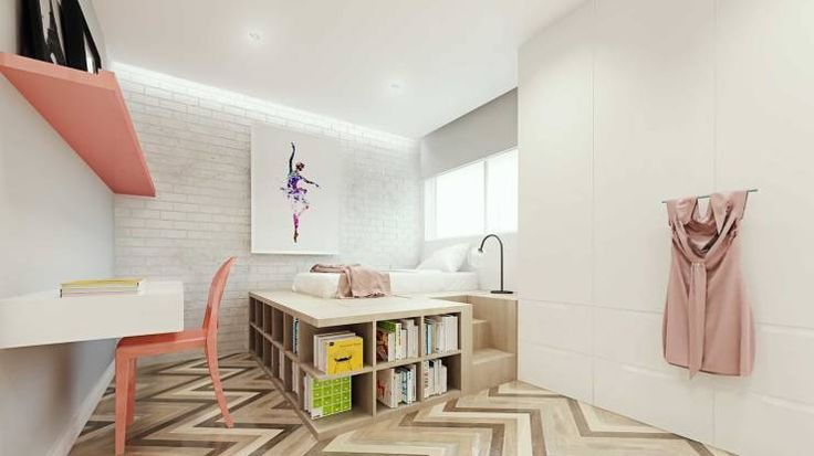 Camera da letto in stile Scandinavo di fpr Studio