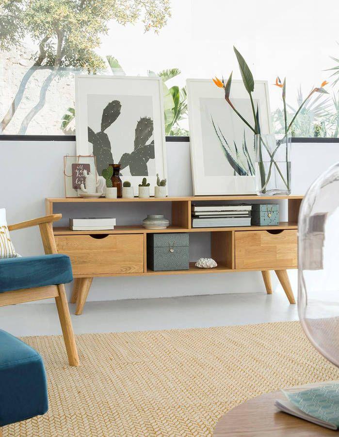 Enfilade scandinave : le meuble idéal au salon | Mobilier de
