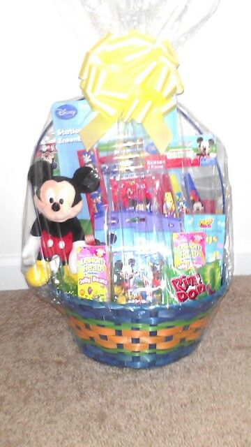 69 best gift baskets images on pinterest gift basket gift mickey mouse easter basket for sale call 7708468973 or email tkg0205yahoo com negle Images
