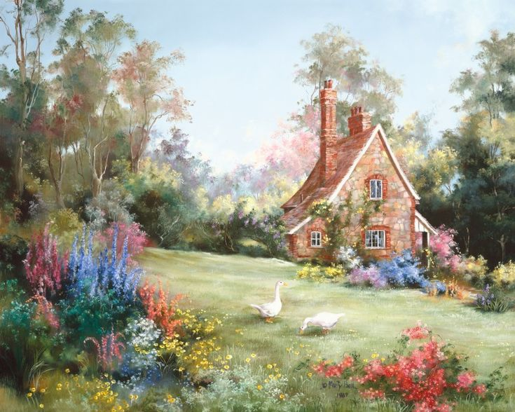 Game Keeper's Cottage by Marty Bell
