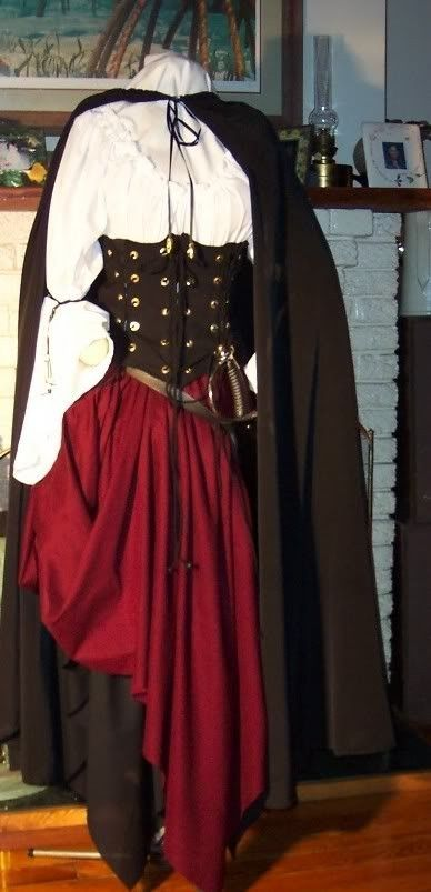 Pirate Wench Renaissance corset custom costume by zachulascrypt, $225.00 Maybe?