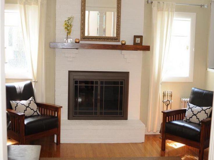 Elegant Fireplace Makeover Maintaining ~ http://lovelybuilding.com/fireplace-makeover-maintaining-ideas-maintaining-ceramic-tile-fireplace/
