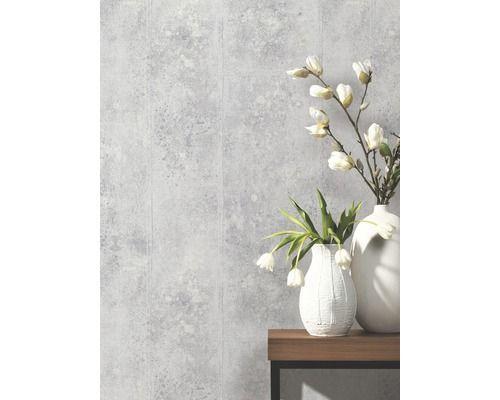 4,14eu per vierkante meter Vliesbehang 42100-40 Origin Metalen platen, grijs