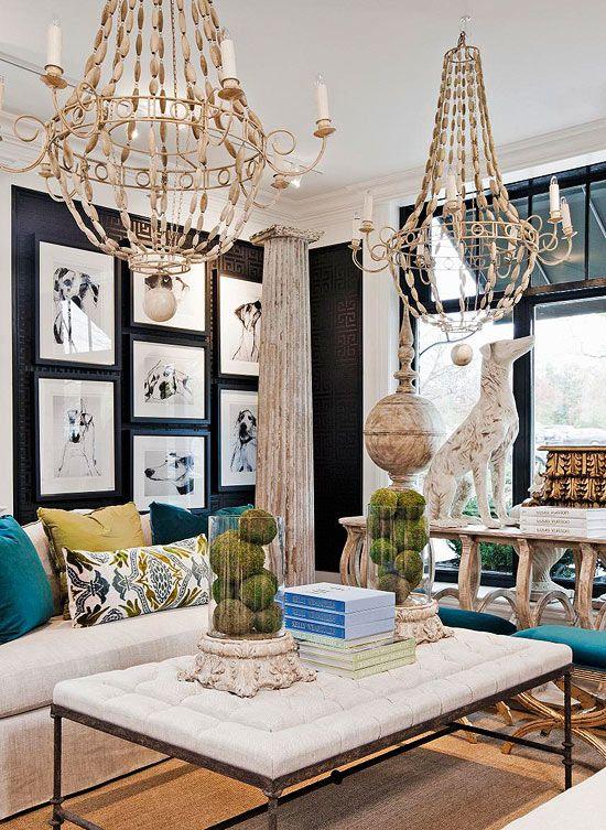 indigo walls lightened up with fun accessories cuckoo 4 inspiration pinterest indigo the. Black Bedroom Furniture Sets. Home Design Ideas