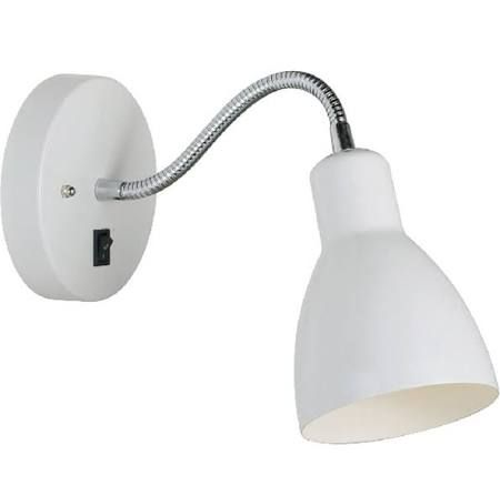 flexible wall reading light white - Google Search