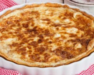 Quiche lorraine légère : http://www.fourchette-et-bikini.fr/recettes/recettes-minceur/quiche-lorraine-legere.html