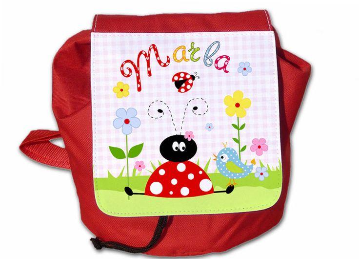 Kinderrucksack mit Name von ginidesign-shop auf DaWanda.com