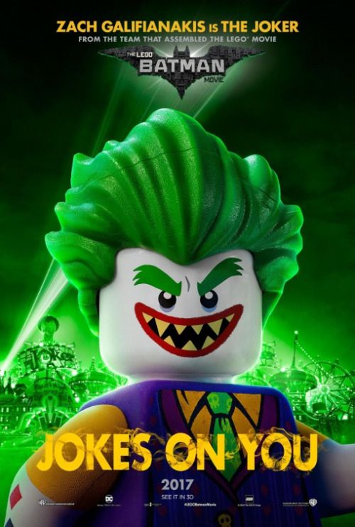 'The Lego Batman Movie' The Joker Poster