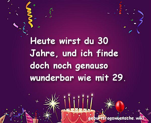 Geburtstagswunsche Zum 30 Schwager Lovely Gluckwunsche Zum 30