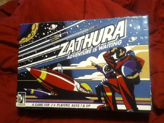 ZATHURA BOARD GAME 2005 SHIPPING INCLUDED