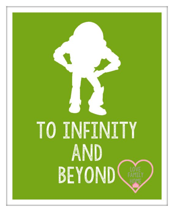 Buzz Lightyear Toy Story Silhouette with by LoveFamilyHome on Etsy