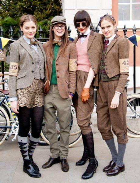 自転車+ツイード=イギリスの新おしゃれの代名詞!「ツイードラン」をいますぐ押さえなきゃ! | ギャザリー