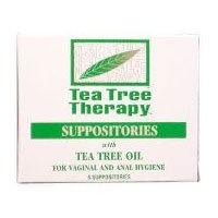 Tea Tree Therapy Tea Tree Suppository @Desert Essence