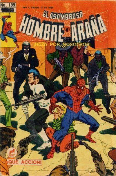Cover for El Asombroso Hombre Araña (Novedades, 1980 series) #199