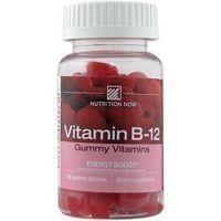 NUTRITION NOW, Vitamin B-12 Energy Boost-Rasberry - 100 gummies ( Multi-Pack)