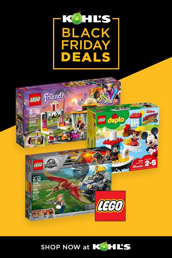 Save On Lego Sets At Kohl S From Black Friday Through Christmas Find Lego Friends Creative Tuning Shop Set Disney Micke Lego Lego Jurassic World Lego Friends