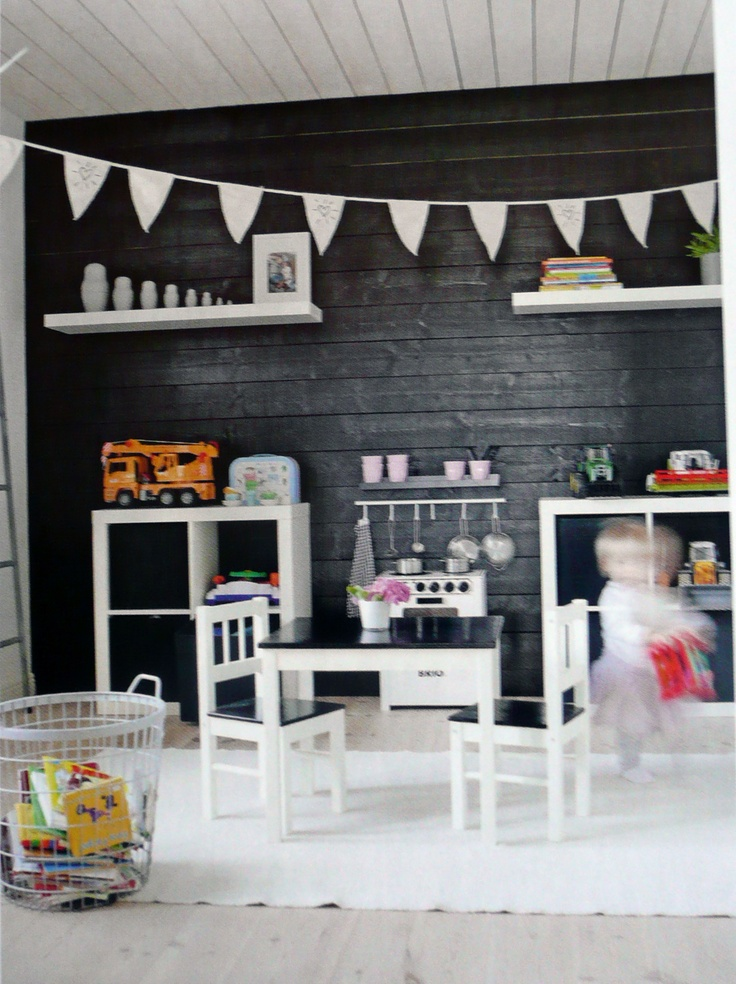 Kontrastingas Vaikų Kambario Interjeras. Childrens RoomsKid BedroomsGirls  BedroomPlay ...