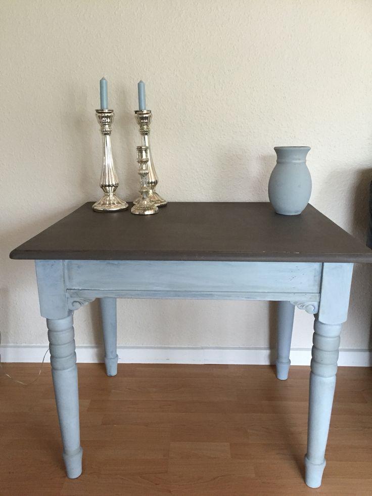 Mit første chalkpaintede møbel