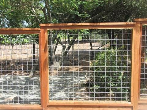 15 best Fence images on Pinterest | Hog wire fence, Dog fence and ...
