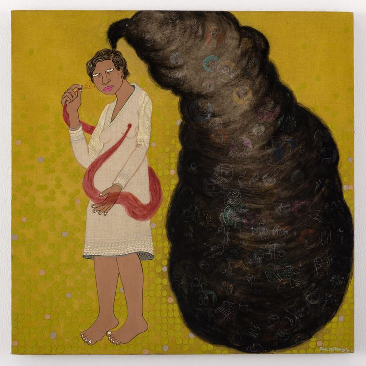 Artwork by contemporary Indian artist Dhruvi Acharya: http://thefloatingmagazine.com/people-dhruvi-acharya/ #art #contemporaryart #artist #india #dhruviacharya