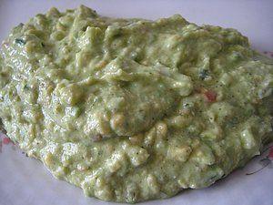 Соус-дип из авокадо